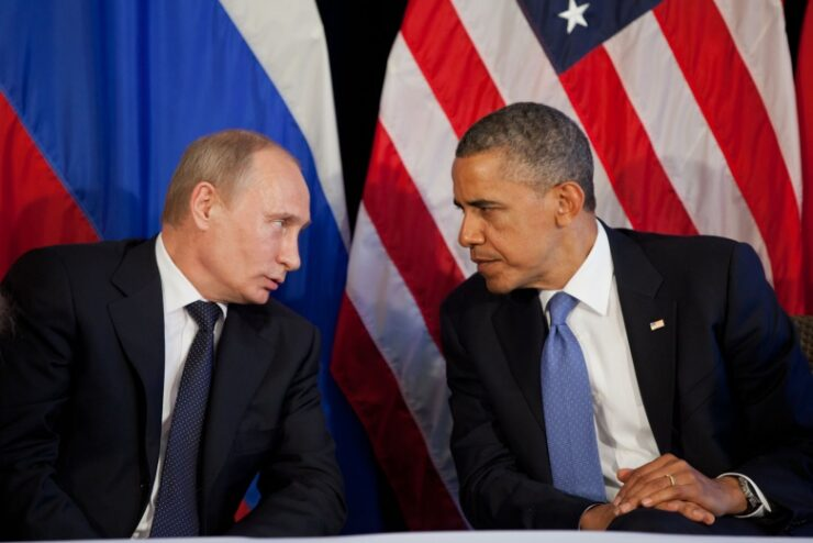Obama Putin - US Russia War