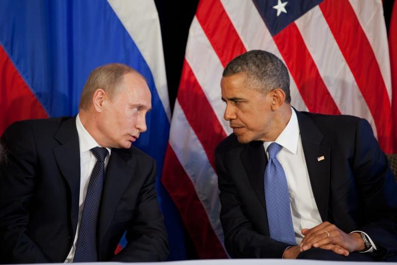 Obama Putin - US Russia War