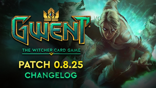 GWENT Witcher card game major update beta