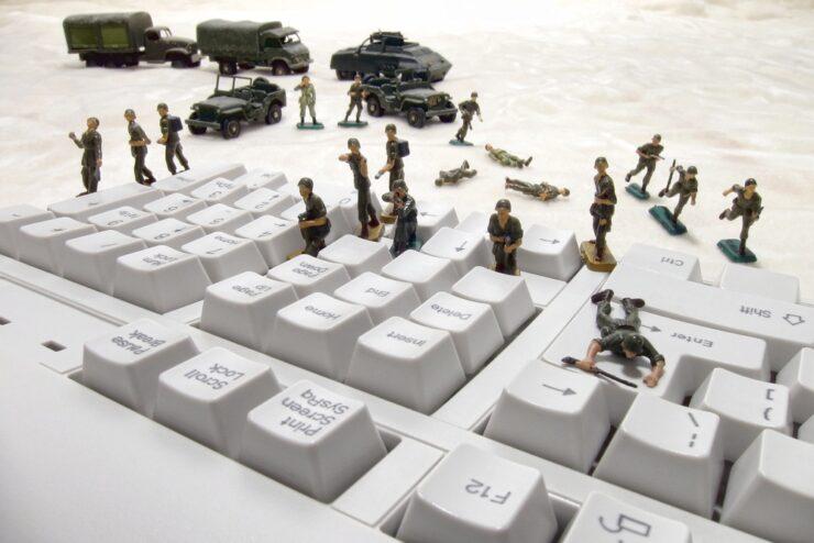 Russia cyber war NSA Territorial Dispute