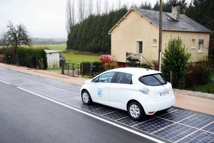 France opens its very own solar road in Tourouvre-au-Perche. This is the world's very first solar road
