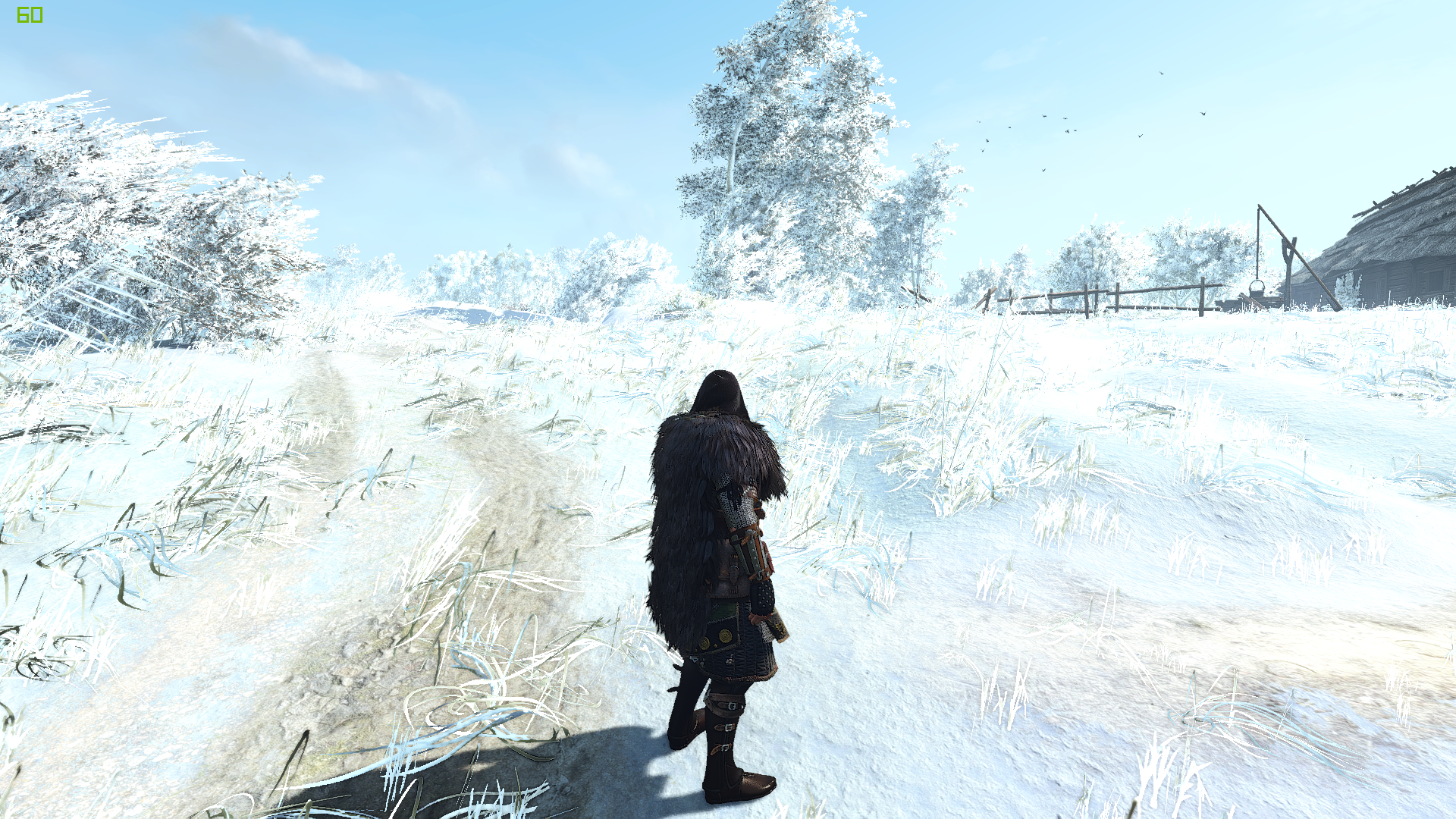 the witcher 3 winter is coming mod adds full scale winter mood. Black Bedroom Furniture Sets. Home Design Ideas