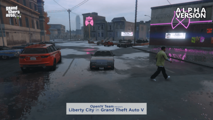 Grand Theft Auto V Open IV Liberty City Mod Gets Some Brand