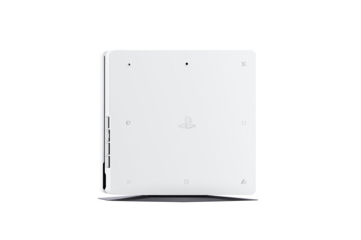 glacier white PlayStation 4 Slim