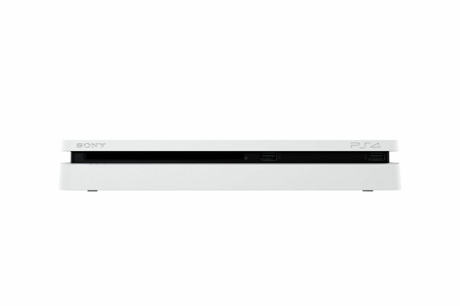 glacier white PlayStation 4 Slim