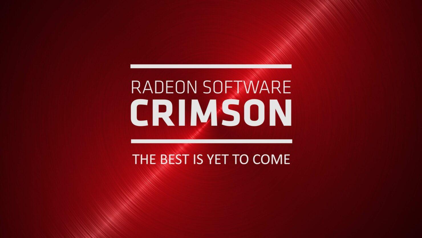 Radeon Software Crimson ReLive Edition