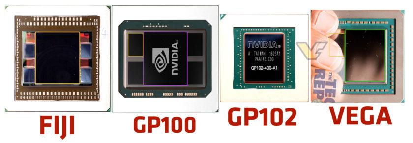 AMD Vega GPU Comparison