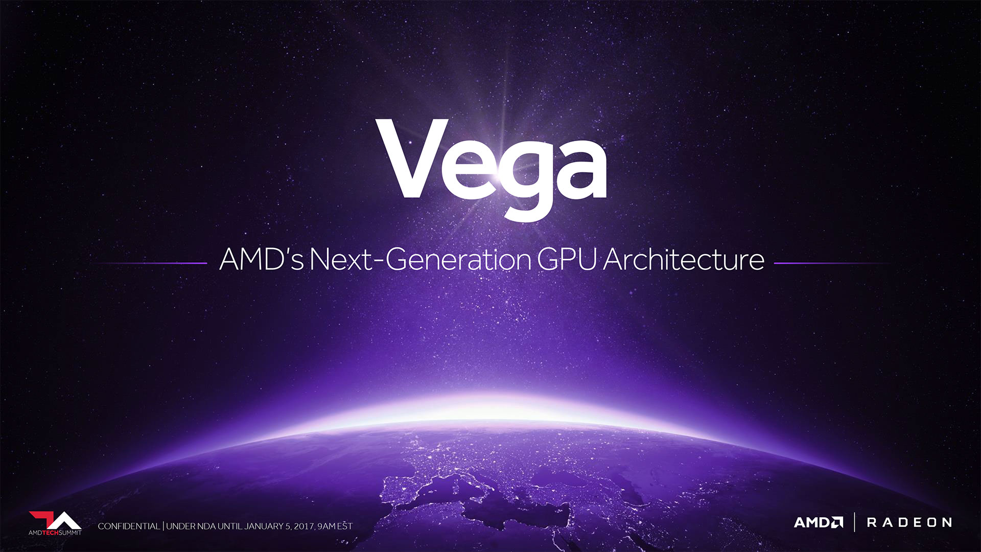 AMD Radeon RX 500 Series Vega and Polaris GPUs