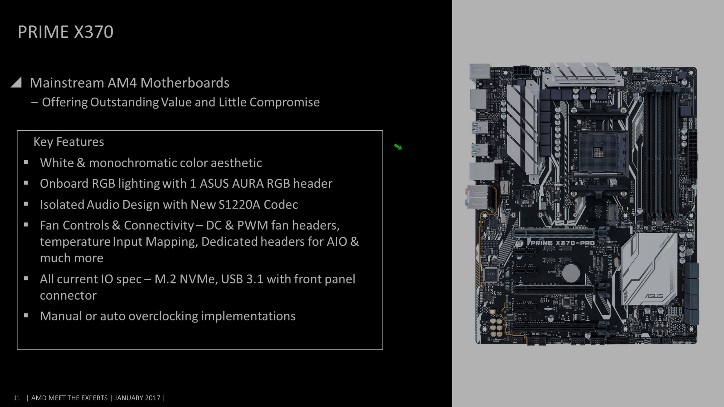 AMD Ryzen X370 & B350 ASUS Motherboards Leaked - Launching February 24th