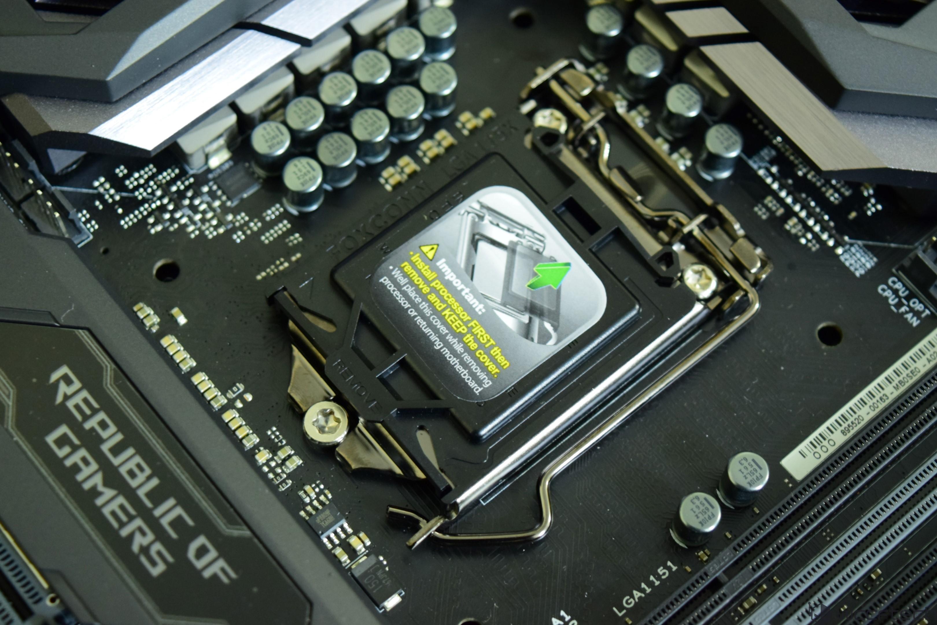 ASUS ROG MAXIMUS IX CODE Z270 LGA 1151 Motherboard Review – ASUS ROG