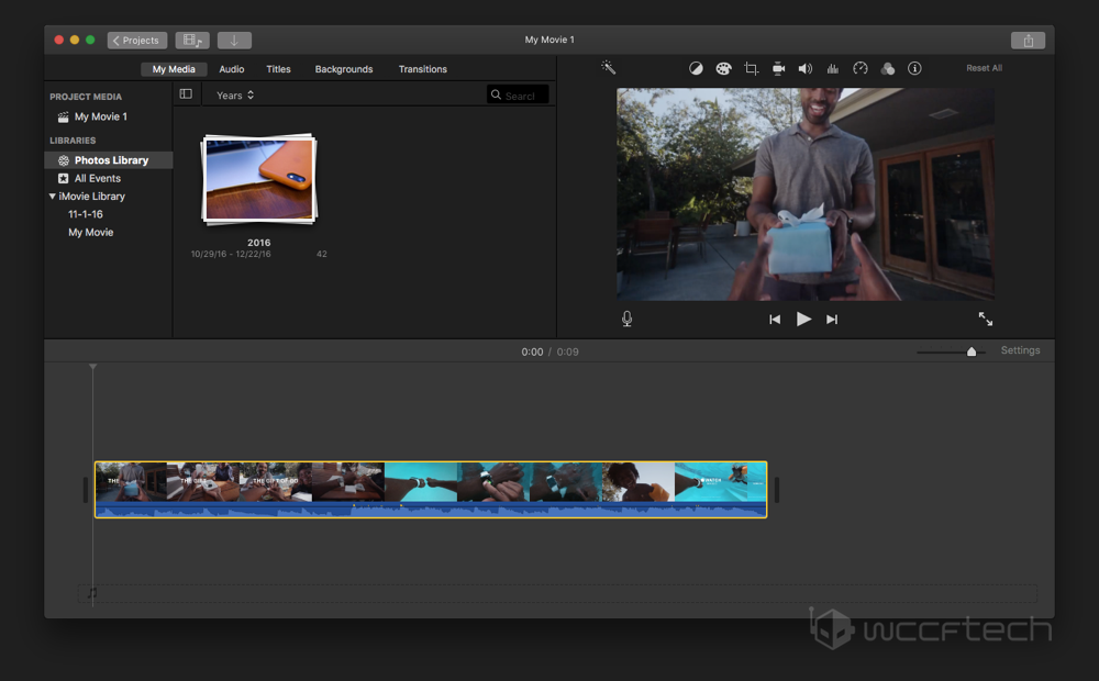 How to remove audio track from video file using imovie add video to timeline ccuart Images