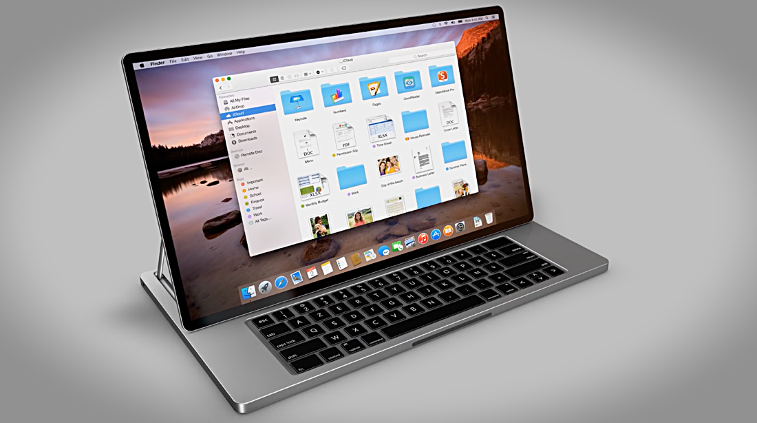 Meet the apple book concept a combination of ipad macbook for Apple product book