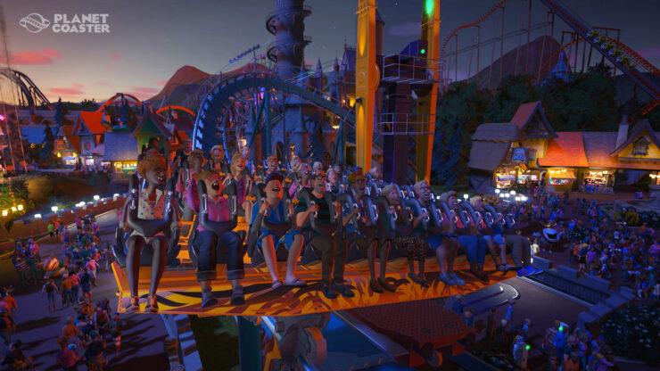 Best Simulation Games 03 - Planet Coaster