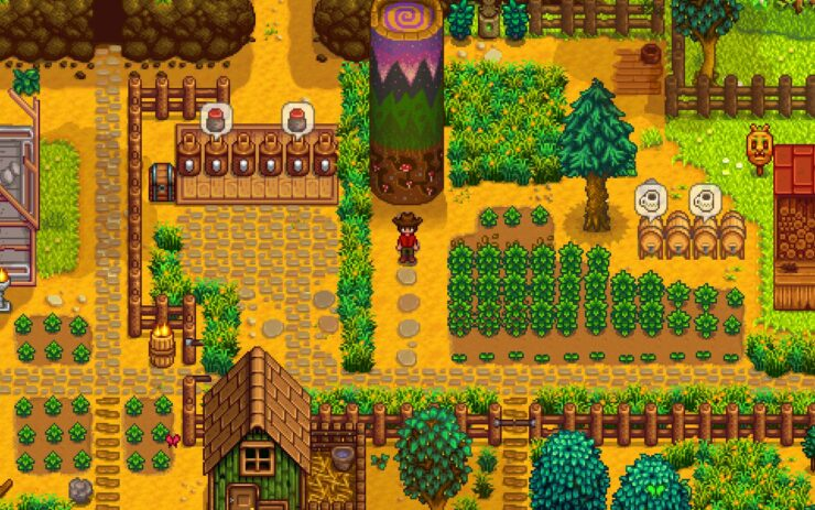 Best Simulation Games 06 - Stardew Valley