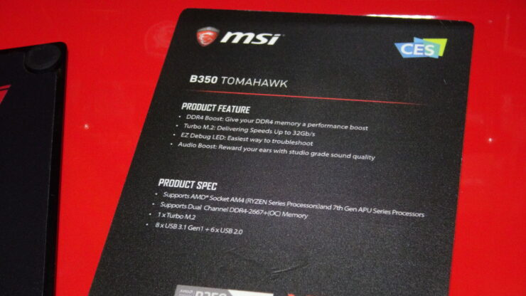 MSI Shows Off AMD AM4 X370 Motherboards For RYZEN CPUs