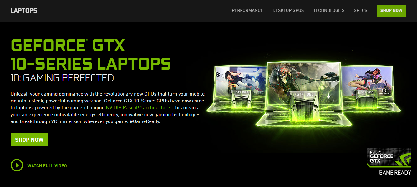 NVIDIA GTX 1050 and GTX 1050 Ti Chips Coming to Notebooks Bearing