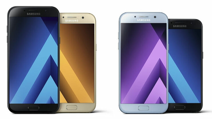 Samsung updates Galaxy A family premium features