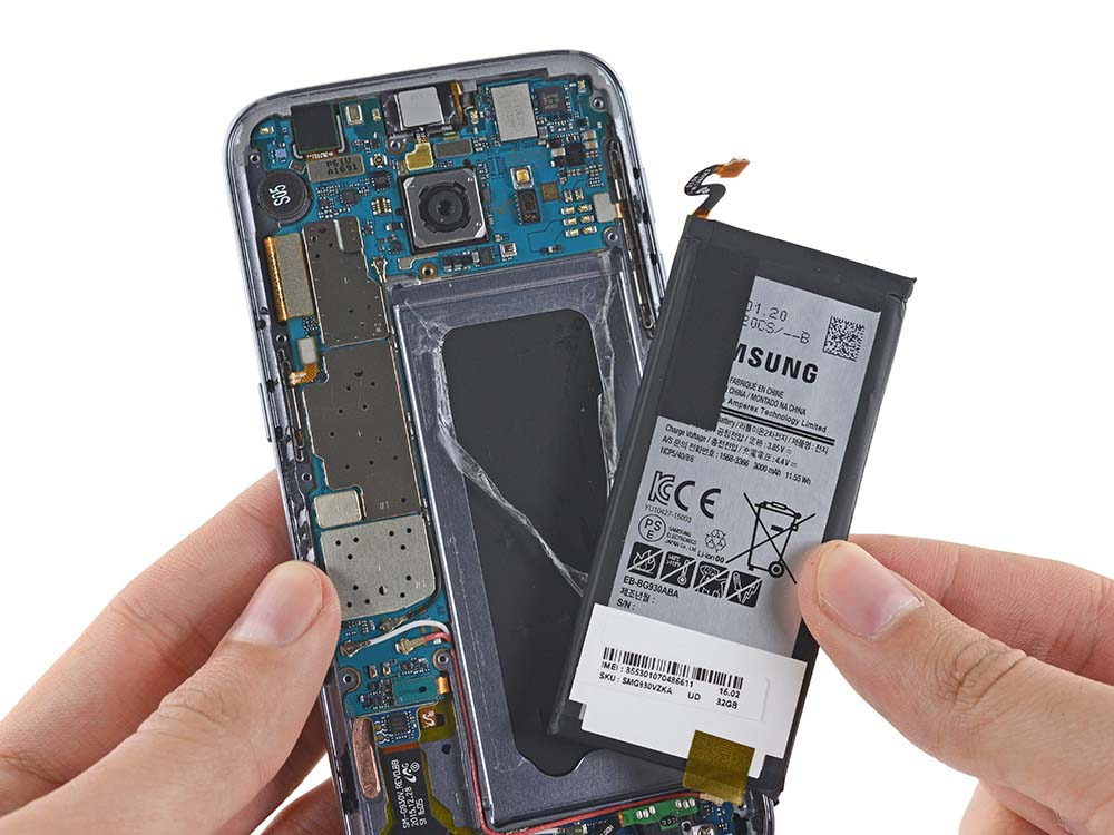 Galaxy S8 3250 mah battery