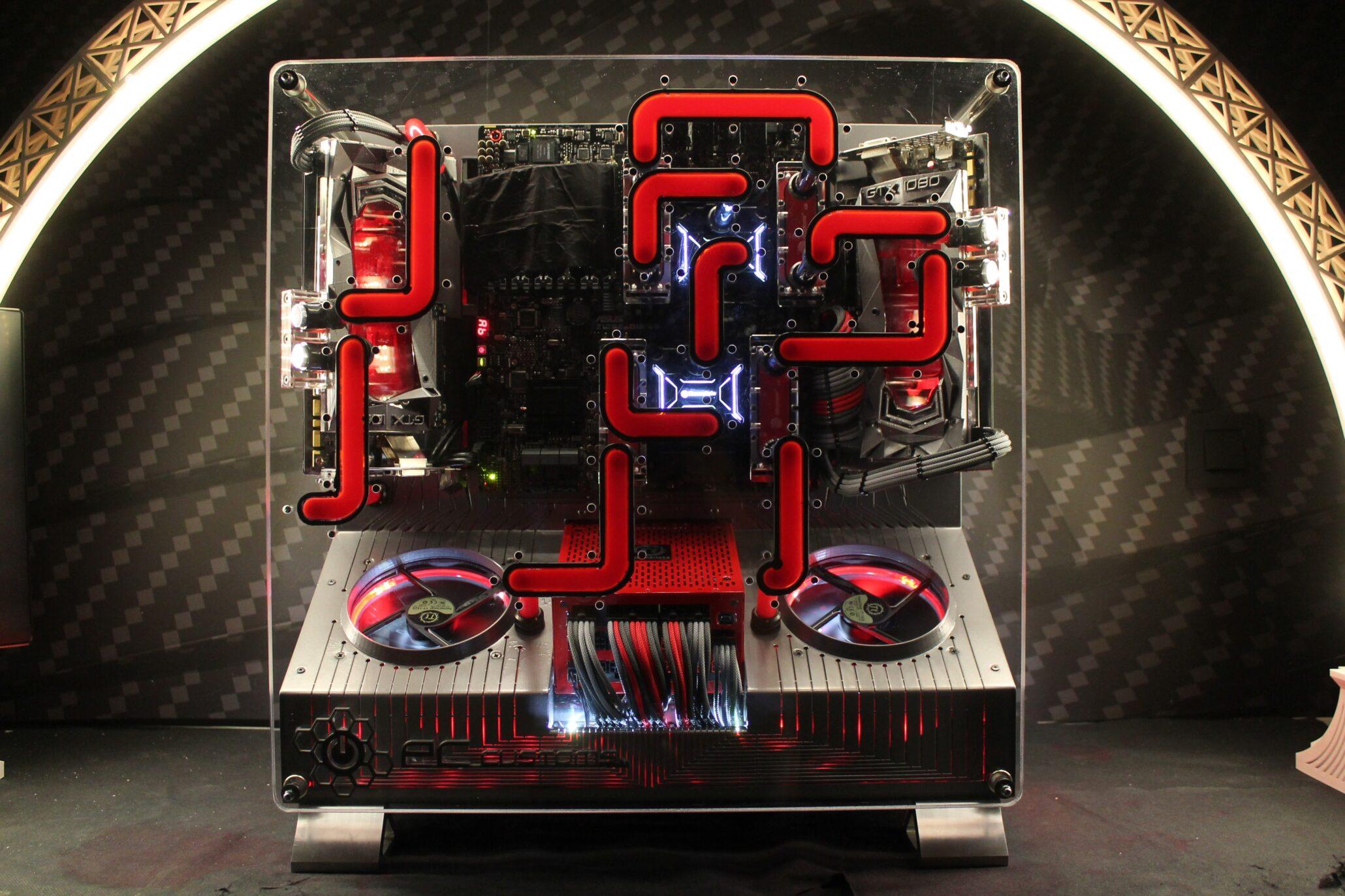 Shui-Sheng: A Reader's CES 2017 Thermaltake P5 Mod
