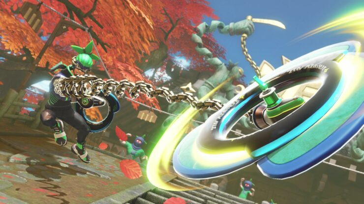 ARMS 2.0 update Nintendo Switch