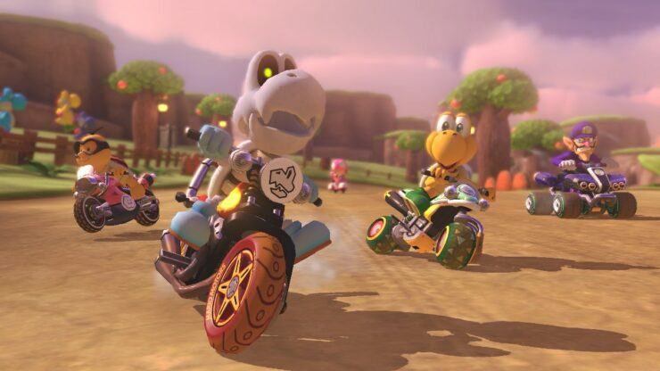 Mario Kart 8 Deluxe update 1.2 Nintendo Switch