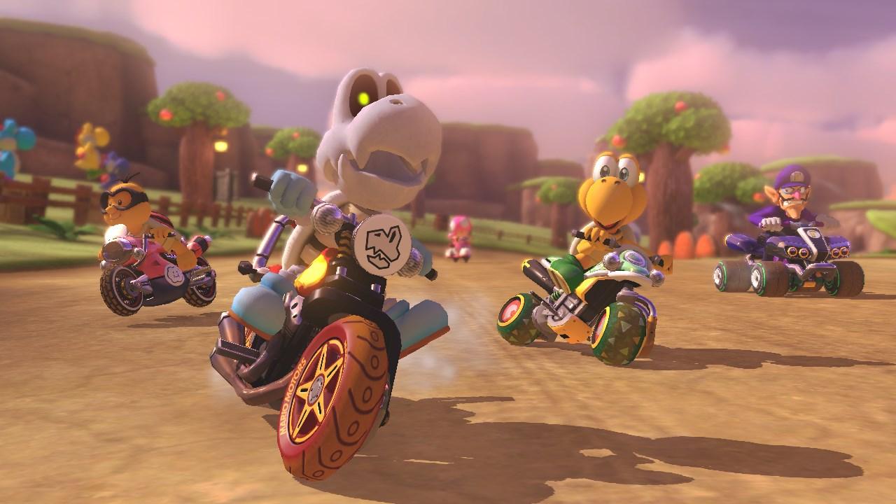 Mario Kart 8 Deluxe update 1.2 Nintendo Switch