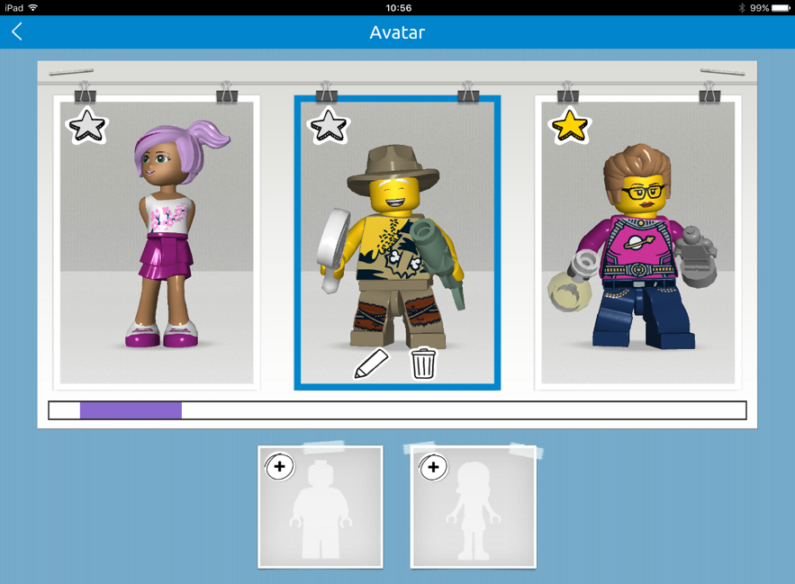 Children can customize their avatars best suited to them