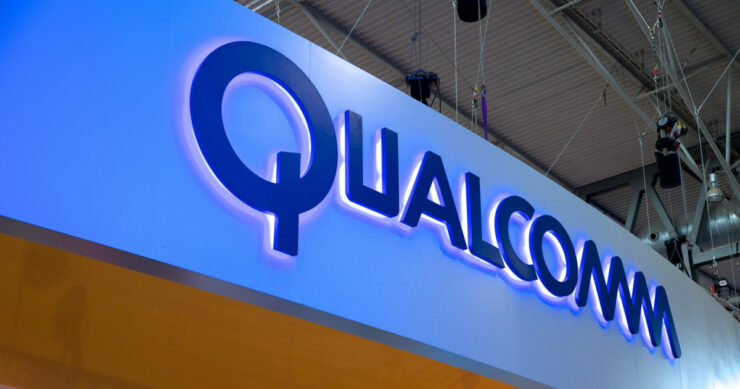 Qualcomm shares fall Apple litigation