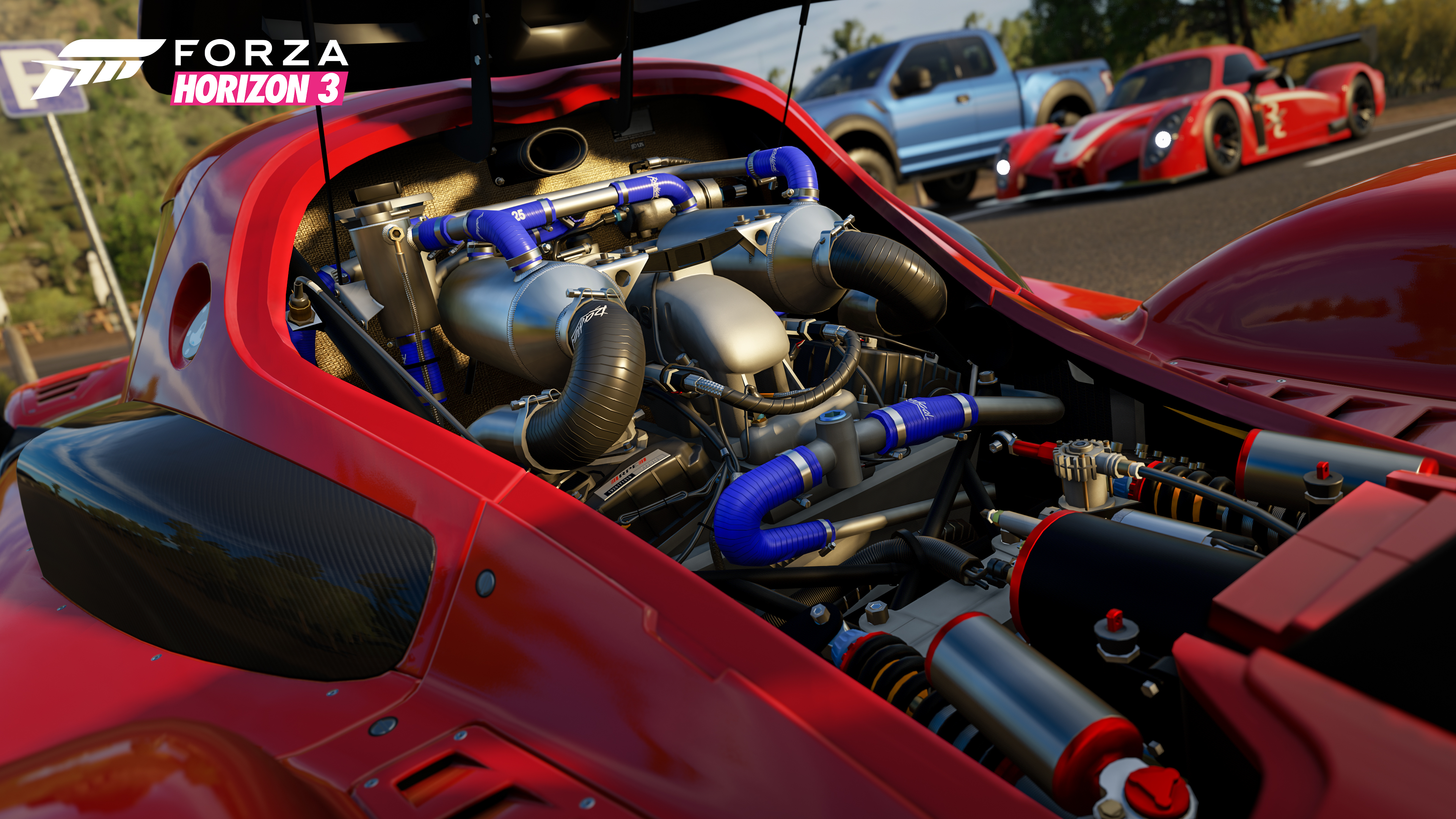 Forza Horizon 3 Rockstar Car Pack Celebrates the New Year With