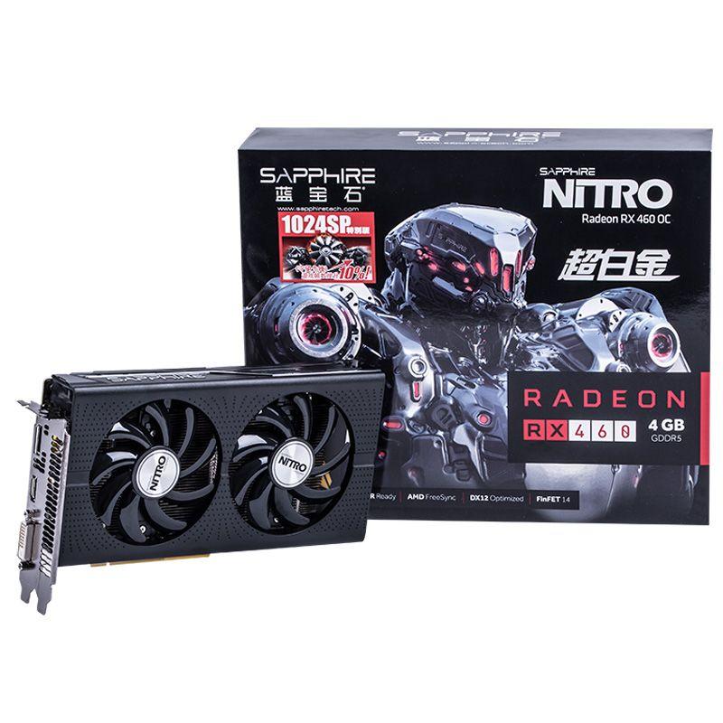Sapphire Radeon RX 460 Nitro OC 1024 Sps