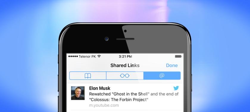 Shared Links