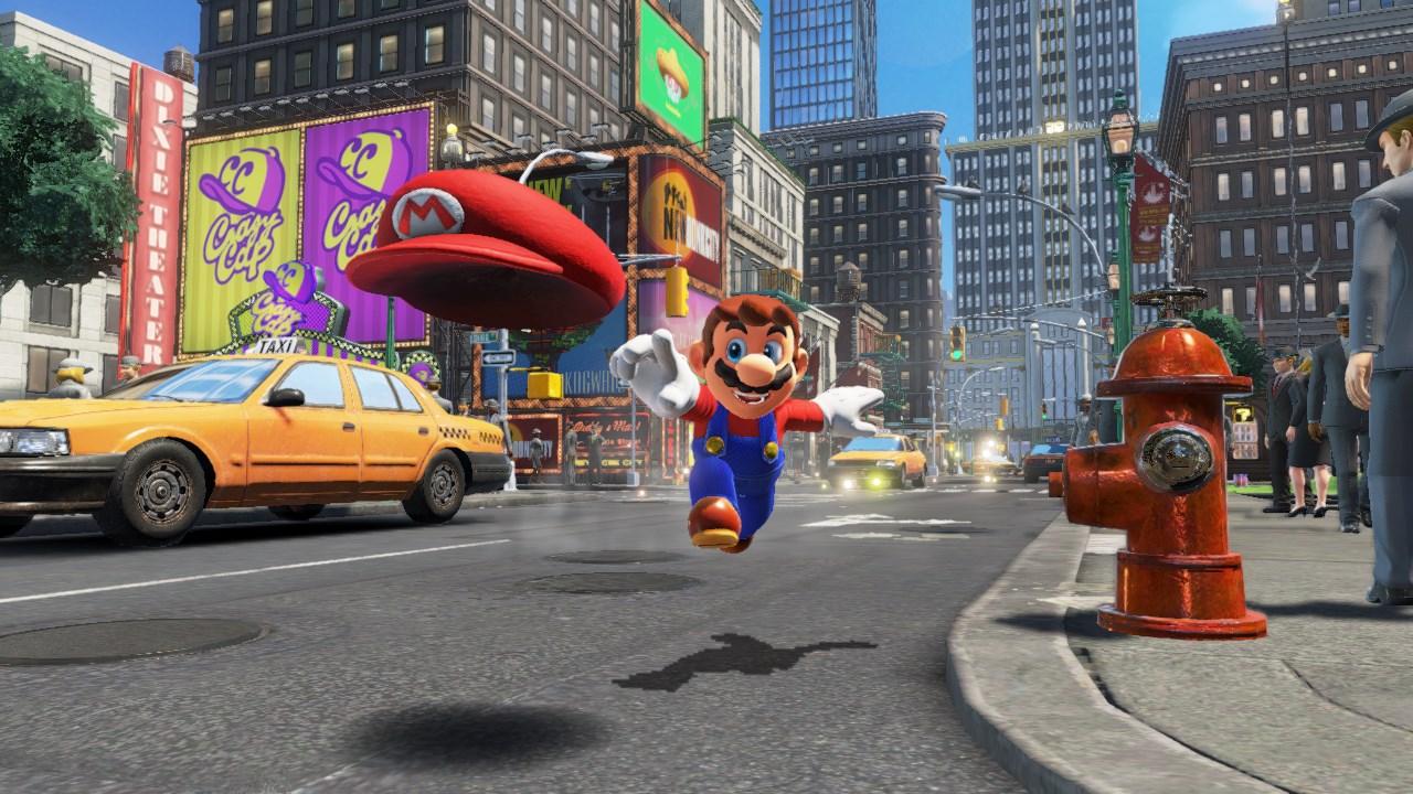 Super Mario Odyssey patch 1.1.0