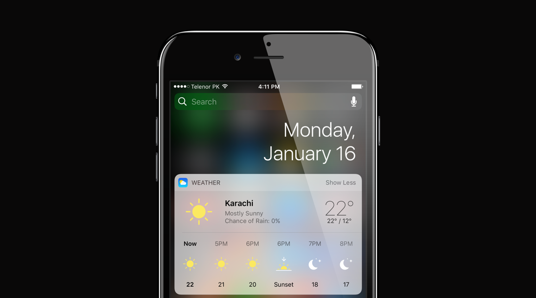 iOS Weather App: Add / Remove Locations, Change Units & View