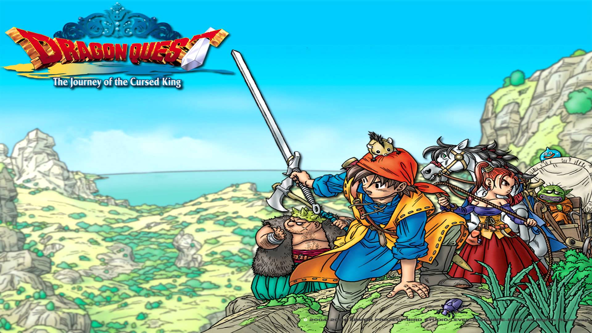 Dragon Quest Viii Journey Of The Cursed King Nintendo 3ds Review