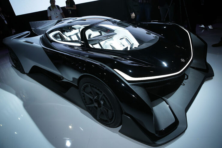 Faraday Future is being sued by a video-effects company called The Milll for $1.8 million and more.