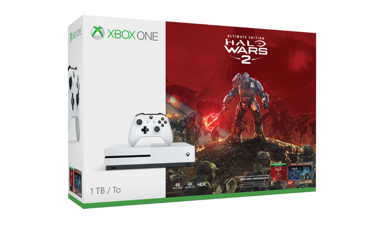 halo wars 2 xbox one s bundle