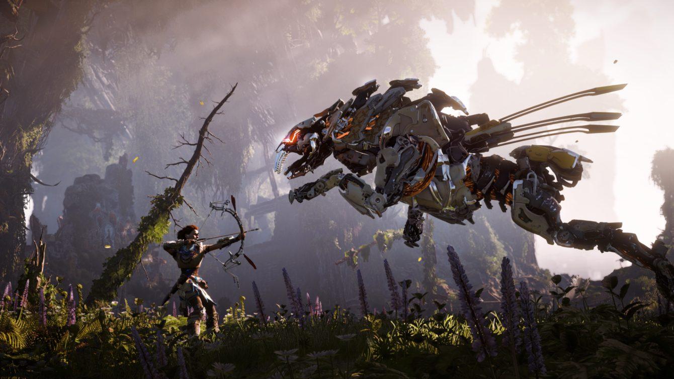 gambar game horizon zero dawn Game Berburu Terbaik Yang Wajib Dimainkan