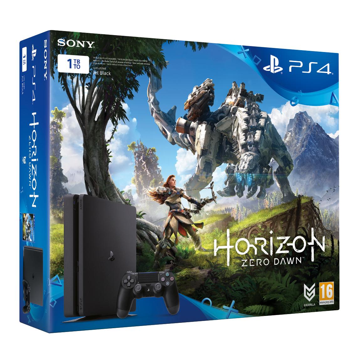 sony announces horizon zero dawn playstation 4 bundle for. Black Bedroom Furniture Sets. Home Design Ideas