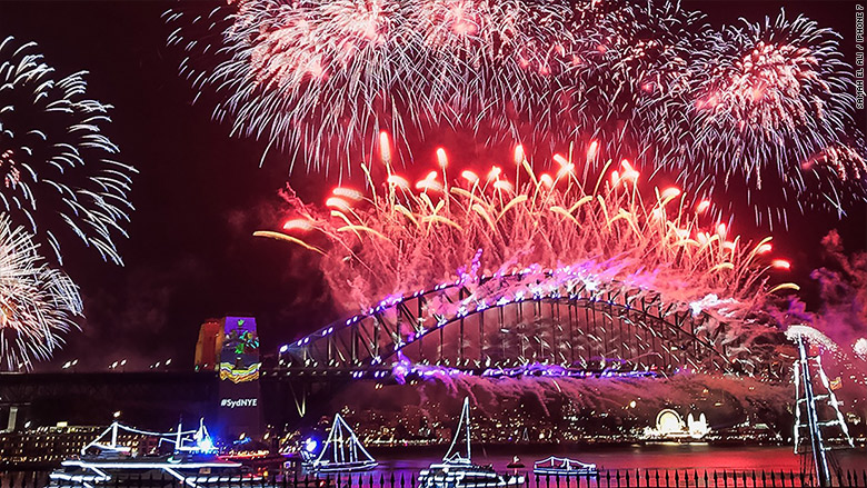 New Year S Eve Festivities Captured On The Iphone 7 Around The World