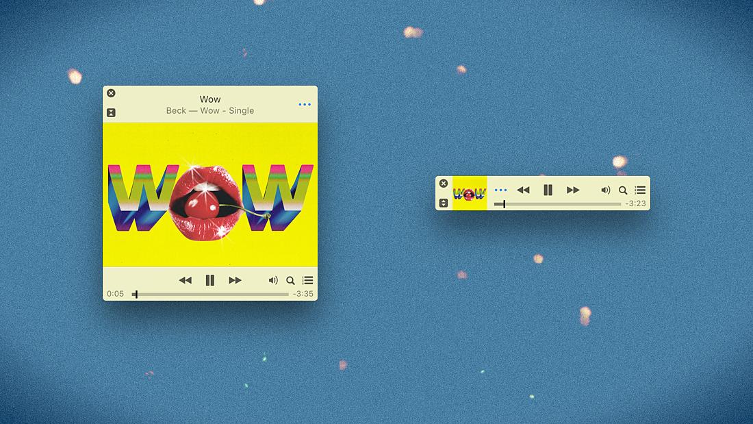 iTunes MiniPlayer
