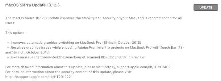 macOS 10.12.3