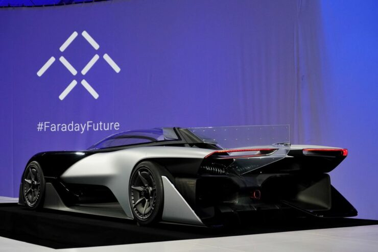 The Faraday Future FF1 has already gained 64,000 reservations in a matter of 36 hours.