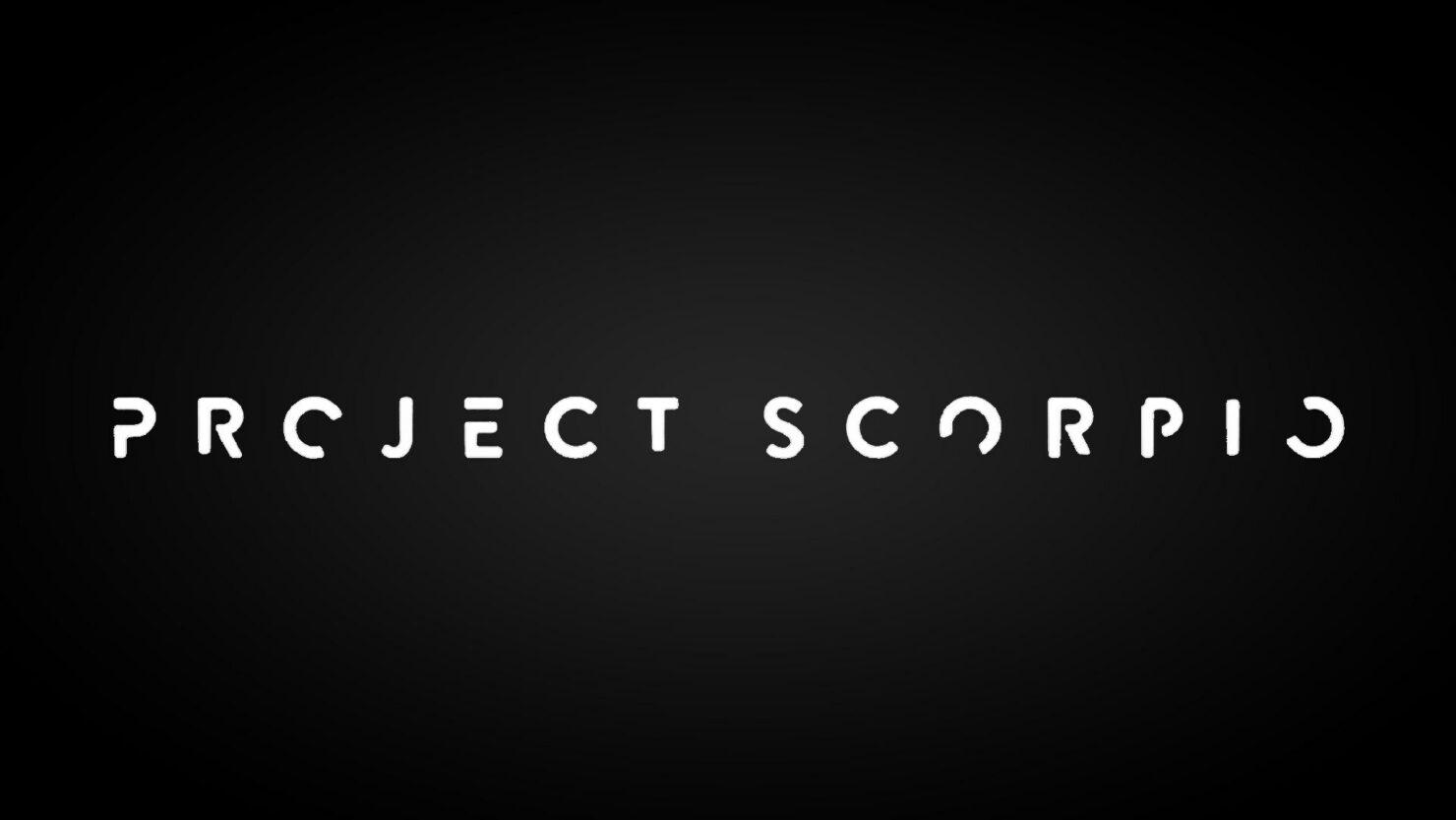 Project Scorpio Native 4k phil spencer