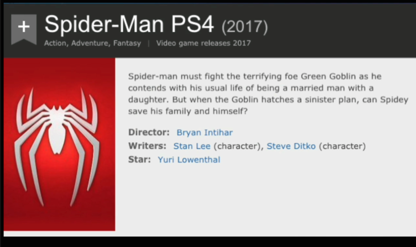 spider-man imdb
