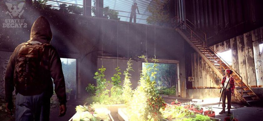 state of decay 2 greenhouse