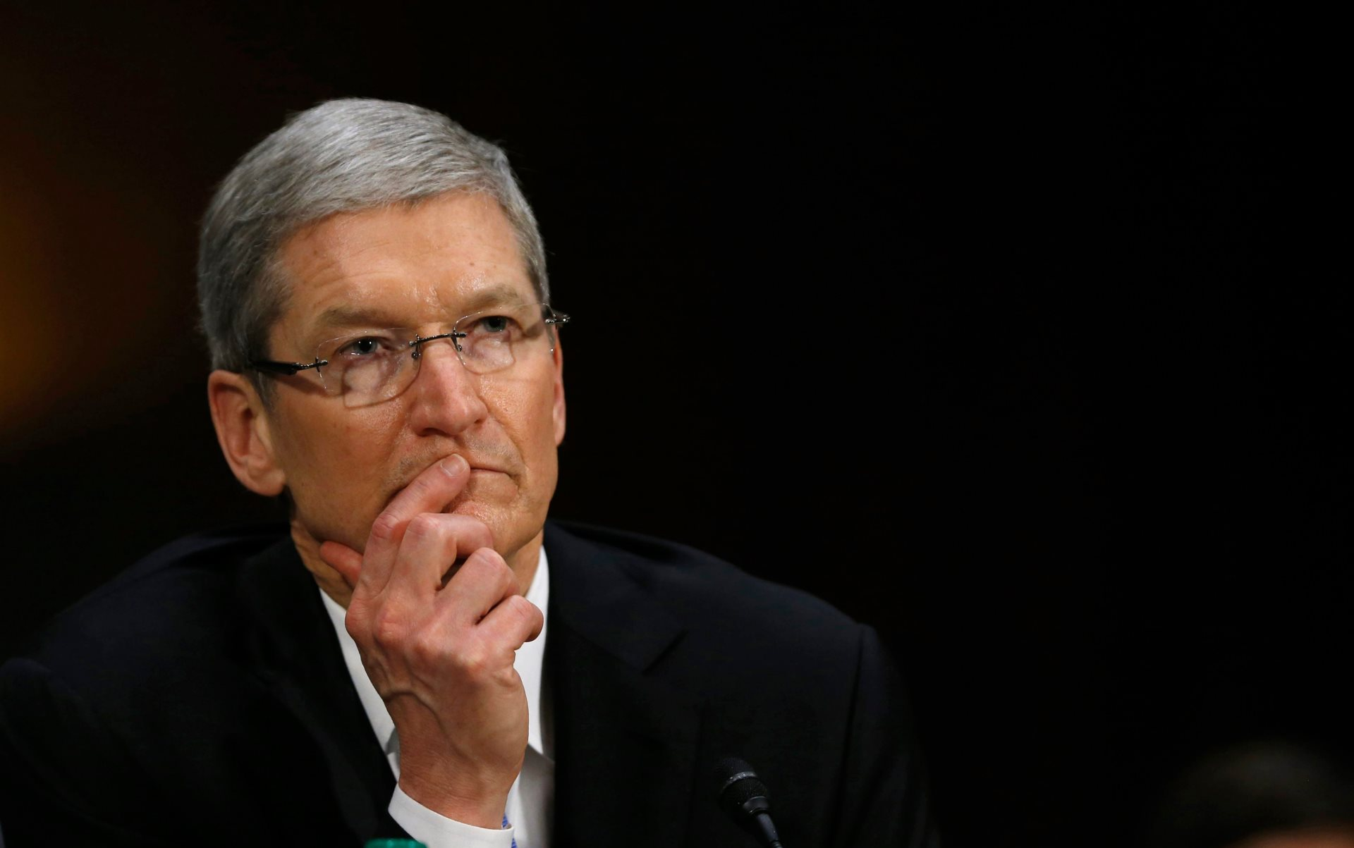 "Tim Cook Protests Muslim Ban: ""Apple Would Not Exist ..."