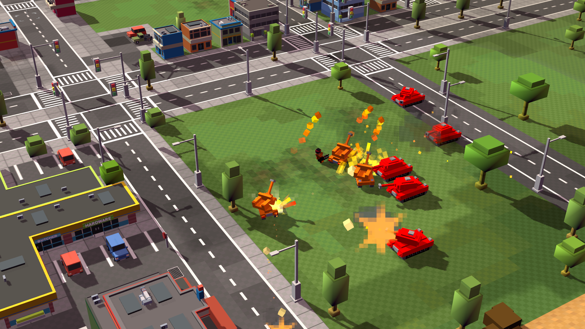 8-Bit Armies Just Announced for Xbox One and Playstation 4