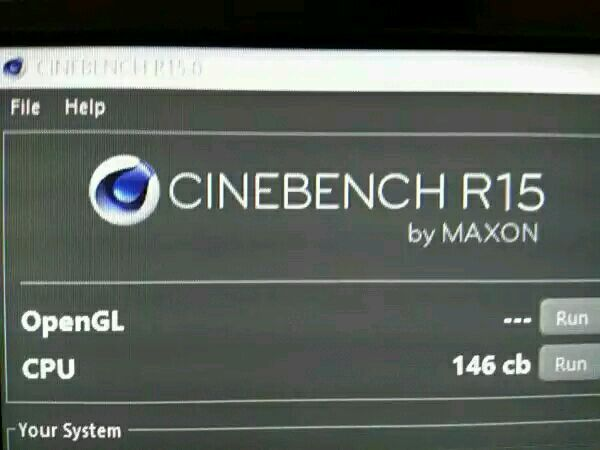 Desktop Performance Cinebench R15S Single Threaded Test - Nnvewga
