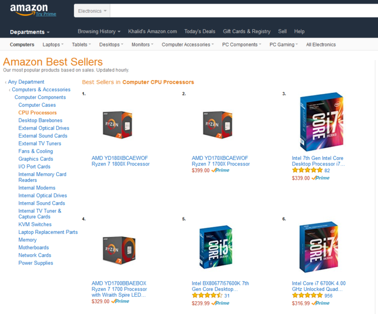 amd-ryzen-7-1800x-1700x-1700-leading-amazon-best-sellers-list
