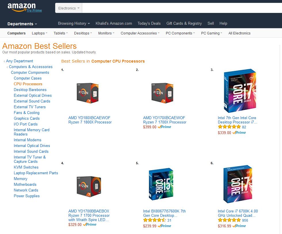 amd-ryzen-7-1800x-1700x-1700-leading-amazon-best-sellers-list